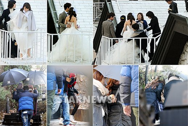 Sneak Peek at Wonder Girls' Sunye's Wedding Photoshoot