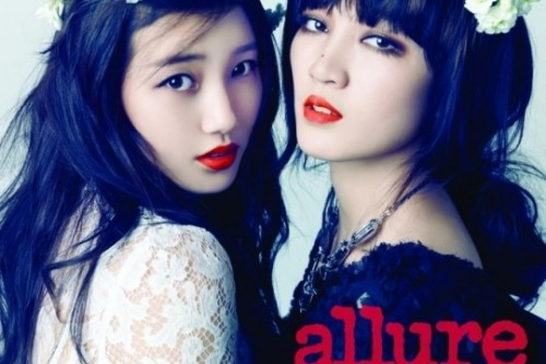 [en][ro][es] miss A's Suzy and Jia share their positive energy with 'Allure Korea'