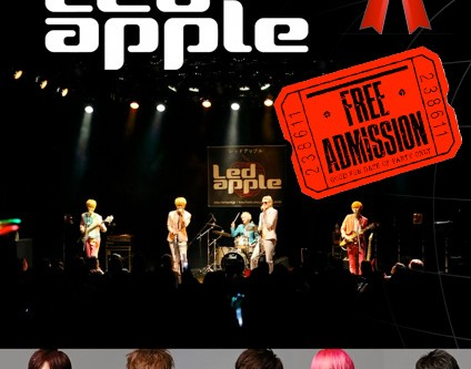 [en] Kpopeurope's Christmas Present Give-Away: Winners of the Concert Tickets For LEDApple!