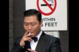 PSY caught smoking