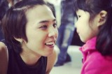 [en][de] Past photos of Taeyang and G-Dragon with Sean's daughter gain attention
