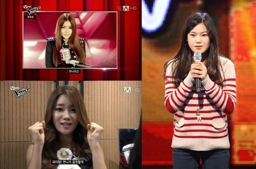 (All Languages) [en][de] AoA Yuna's younger sister Yuri impresses with her audition on 'Voice Kids'