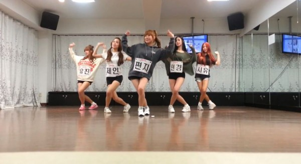 "[en][de] Rookie girl group BPPOP releases dance practice video for ""Today"""