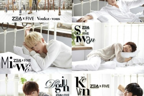 "(All Languages) [en][de] ZE:A5 releases jacket images for ""Voulez Vous"" + upcoming showcase!"
