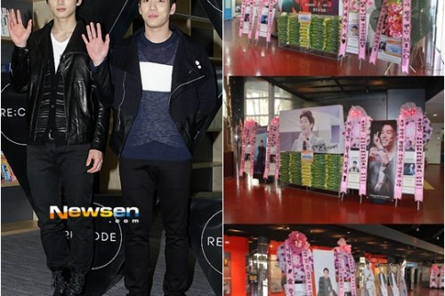 [en][ro][es] 2AM's Changmin and Jinwoon's fan clubs donate more than 1 ton of rice to charity