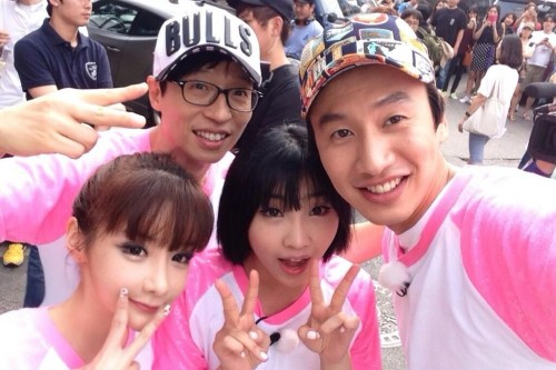 (All Languages) [en][fr] Minzy and Park Bom's Update about the Filming for Running Man