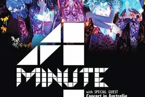 [en][sk] 4MINUTE are poppin' right down under! Exclusive limited concert in Australia
