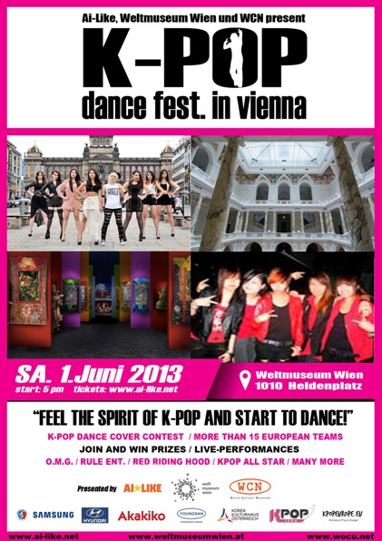 [en] Kpopeurope.eu feat. K-Pop Dance Festival Vienna – The Artists of the Event
