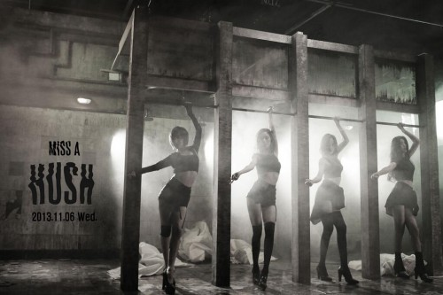 "(All Languages) [en][es]miss A Releases First Teaser Photo for ""Hush"""