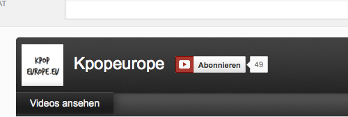 (All Languages) [en][de] Kpopeurope on Youtube!