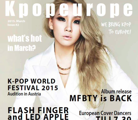 KPOPEUROPE MAGAZINE #ISSUE #2 IS OUT NOW!