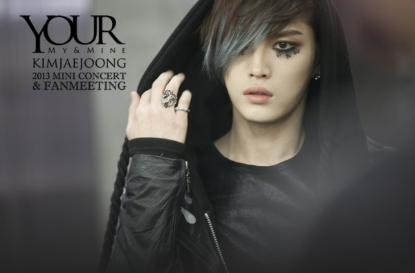 JYJ's Jaejoong reveals poster for upcoming mini concert & fanmeeting 'Your, My & Mine'
