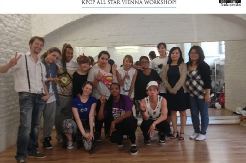 (All Languages) [en] KPOP ALLSTAR Dance WORKSHOP in VIENNA – Summary