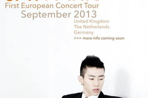 JAY PARK European Concert Tour 2013: Details & Ticketing [UK, NL, DE]
