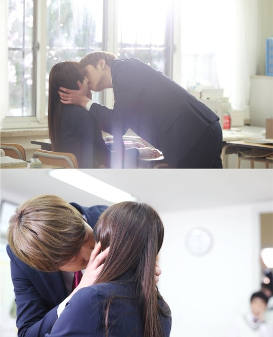 "(All Languages) [en] B2ST's Junhyung's kiss scene in ""Monstar"" revealed!"