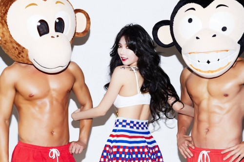 [en] Comeback photos of Hyuna '빨개요 (RED)'