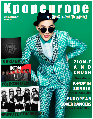 (All Languages) [en] KPOPEUROPE MAGAZINE #ISSUE #01 IS OUT NOW!