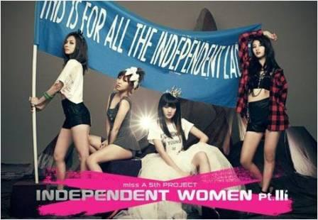 "Miss A Releases ""Independent Women pt III"" Music Video"