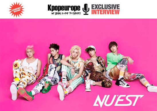 (All Languages) [en] Upcoming Interview on Kpopeurope with NU'EST!