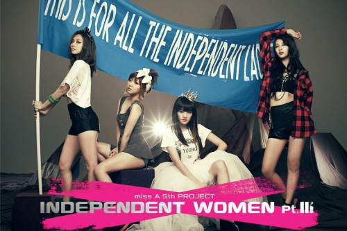 """Miss A opens their teaser website for """"Independent Women Part III"""" project"""