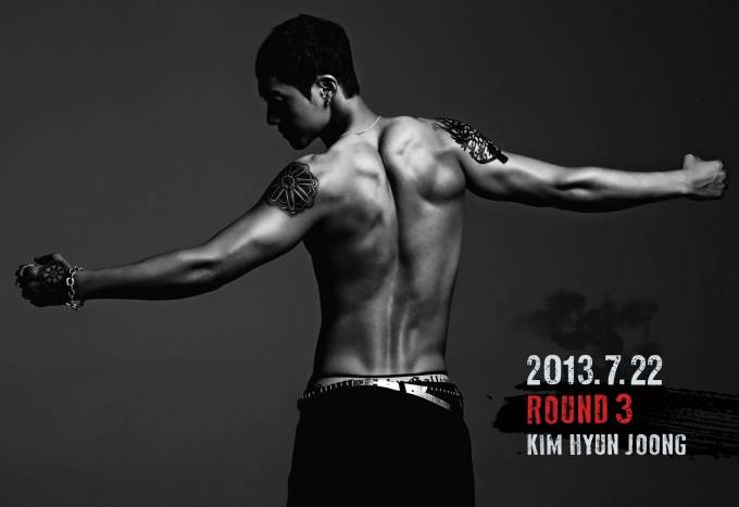 """(All Languages) [en] Kim Hyun Joong to come back with his new album """"Round 3""""!"""