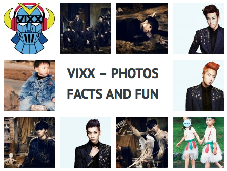 VIXX – Photos, Facts and Fun